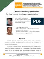 6. La Creatividad Visual_tecnicas y Aplicaciones