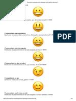 Diccionario de Emoticonos de WhatsApp ¿Qué Significa Cada Emoji