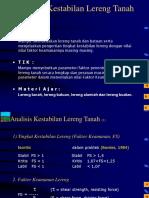 6 - AKL2006 Analisis Lereng Tanah