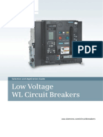 Low Voltage WL Circuit Breakers UL489