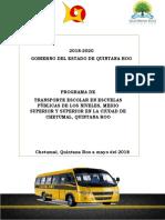 Politica Pública Transporte Escolar