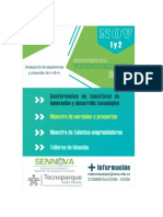 Agenda Encuentro Tecnoparques 2018