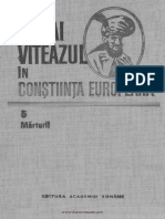 Mihai Viteazul în conştiinţa europeană. Volumul 5 Mărturii.pdf