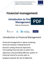 Financial Management Day 1 Part 1