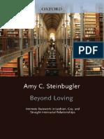 Amy C. Steinbugler Beyond Loving Intimate Race