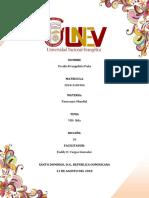 El Presente Trabajo Tratara Del VIH
