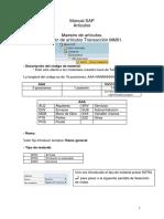 Manual Compras SAP Espanhol