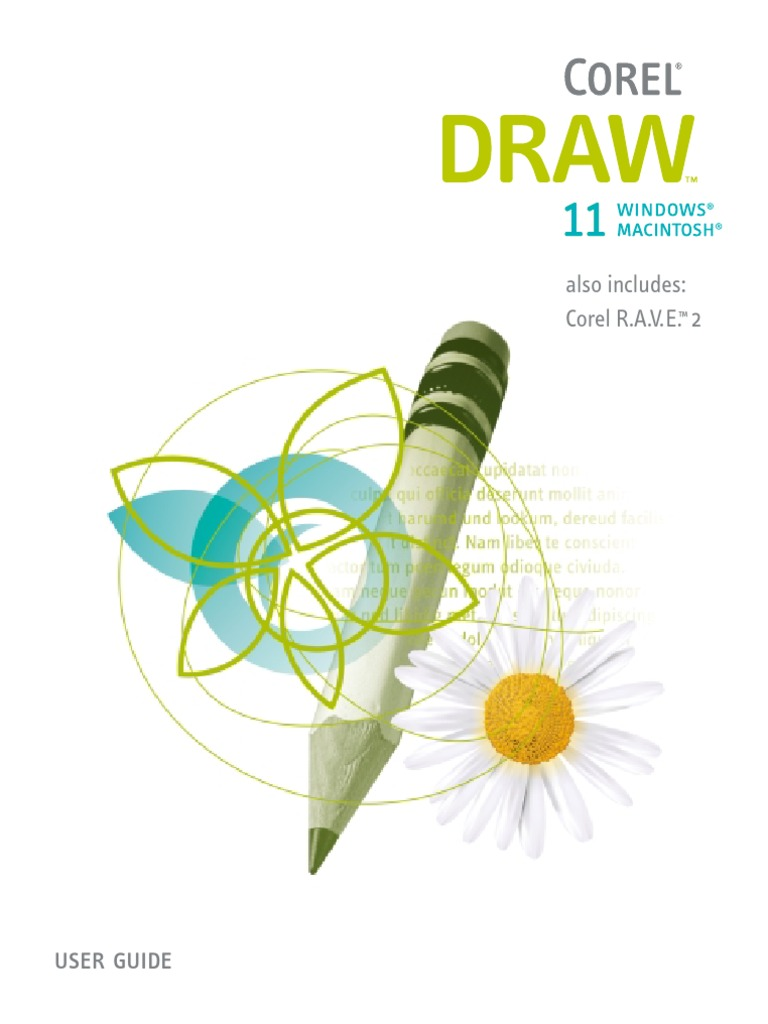 CorelDRAW 11 and Corel RAVE 2 User Guide | Operating System | Icon