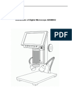 Manual Microscopio ADSM302 Inglés