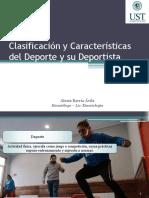 1 RHB DEPORTIVA Clasificación y Características Del Deporte y Su Deportista