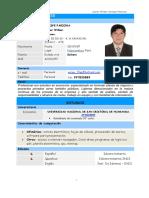 Curriculum Javier Quispe Pariona 1