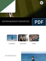 2 y 3 Entrenamiento Deportivo Santo Tomas 2018 PDF