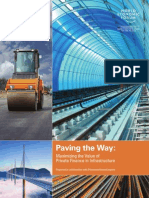 World Economic Forum PDF Report on Putting Money on Infrastructure Remo