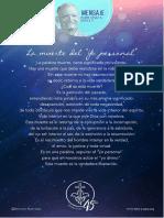P. Dávila (La Muerte Al Yo Personal)