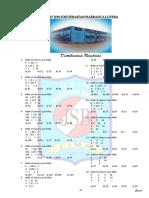 Problemas Propuestos de Analogias y Distribuciones Numericas Ccesa007