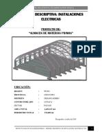 Memoria Descriptiva Instalaciones Electricas.docxalamacen