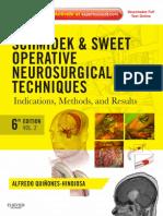 Schmidek & Sweet Operative Neurosurgical Techniques 6th Ed (2 Vol Set) [PDF][Tahir99] VRG