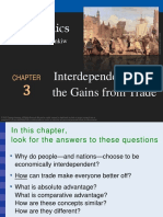 Chapter 3 Interdependence and the Gains From Trade