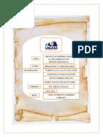Proyecto de Desarrollo Para Region Moquegua