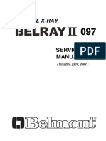Belmont Belray II Dental X-Ray - Service manual.pdf