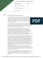 Artículo 45 - Modificaciones del proyecto - Área metropolitana de Barcelona