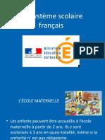 Le Systeme Scolaire Francais.ppt