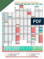 Calendário Escolar Ano Letivo 2018-2019