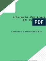 Historia Del Traje en Colombia