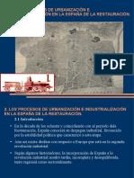 La Restauración Industrialización