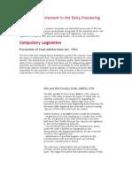 Regulatory Enviroment