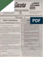 Reglamento Del Régimen Deobligaciones Medidad de Control y Deberes de Las Instituciones Supervisadas en Relacion a La Ley Especial Contra La