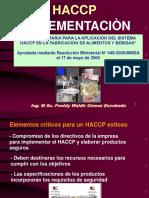 Clase 06. IMPLEMENTACION DEL HACCP.ppt