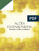 livro Ações Extensionistas