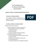 Resdia - Evaluación Modulo i Jorge Pisconte