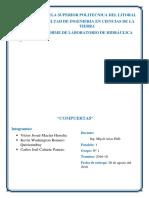 2-2 Compuerta - Practica de Laboratorio Hidraulica