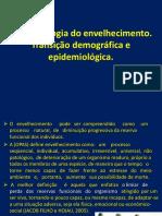 Epidemiologia Do Envelhecimento