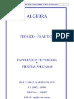 Apuntes de Algebra - 2003