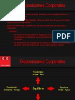 DISPOSICIONES CORPORALES