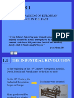 Chapter 1 (The Expansion Of European Influence In The East)
