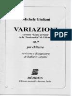 Giuliani Michele_variazioni Op. 9_ed. Berben