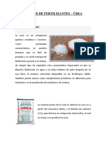 Síntesis de Fertilizantes-urea