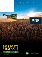 2016 Parts Catalogue