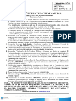Requisitos de Cancelacion de Patrimonio Familiar