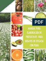 manual para la elaboración de protocolos para ensayos de eficiencia con PQUA