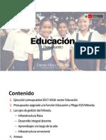 PPto 2019 m. de Educación