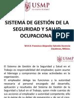 2.2 Sistema de Gestion SSO