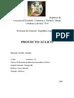 Proyecto Áulico Teología