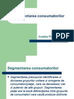 segmentarea consumatorilor