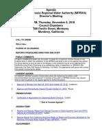 MPRWA Agenda Packet 11-08-18