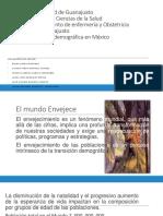 Transición Demográfica en México2